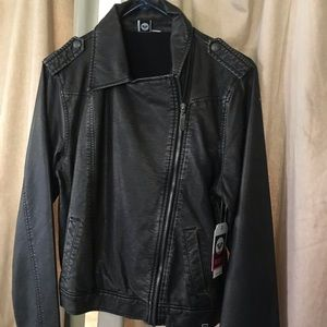 Roxy leather jacket